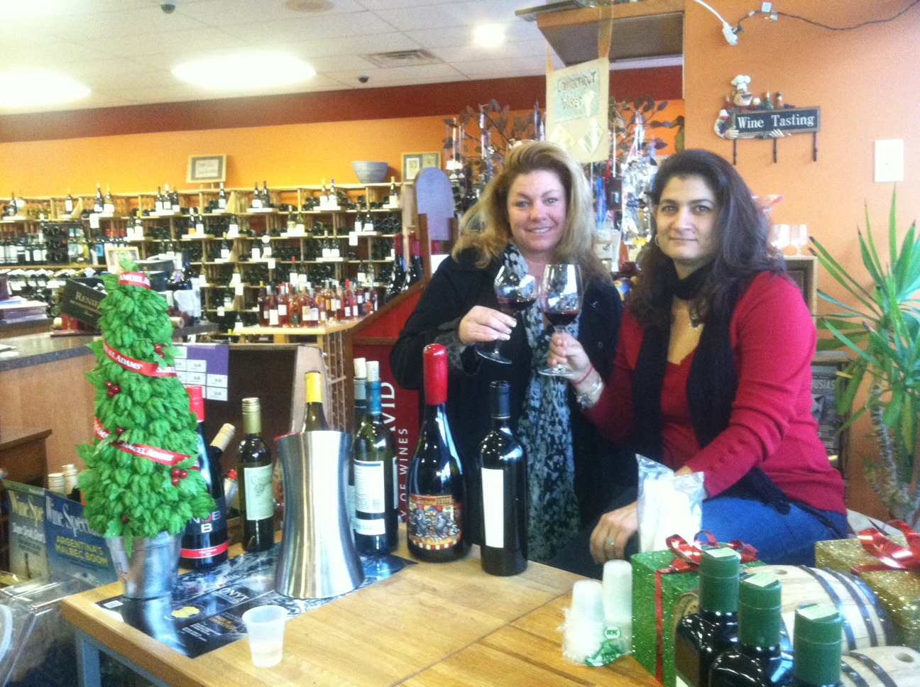 AROUND TOWN: NEWS POURS RAPTURE AT VINES