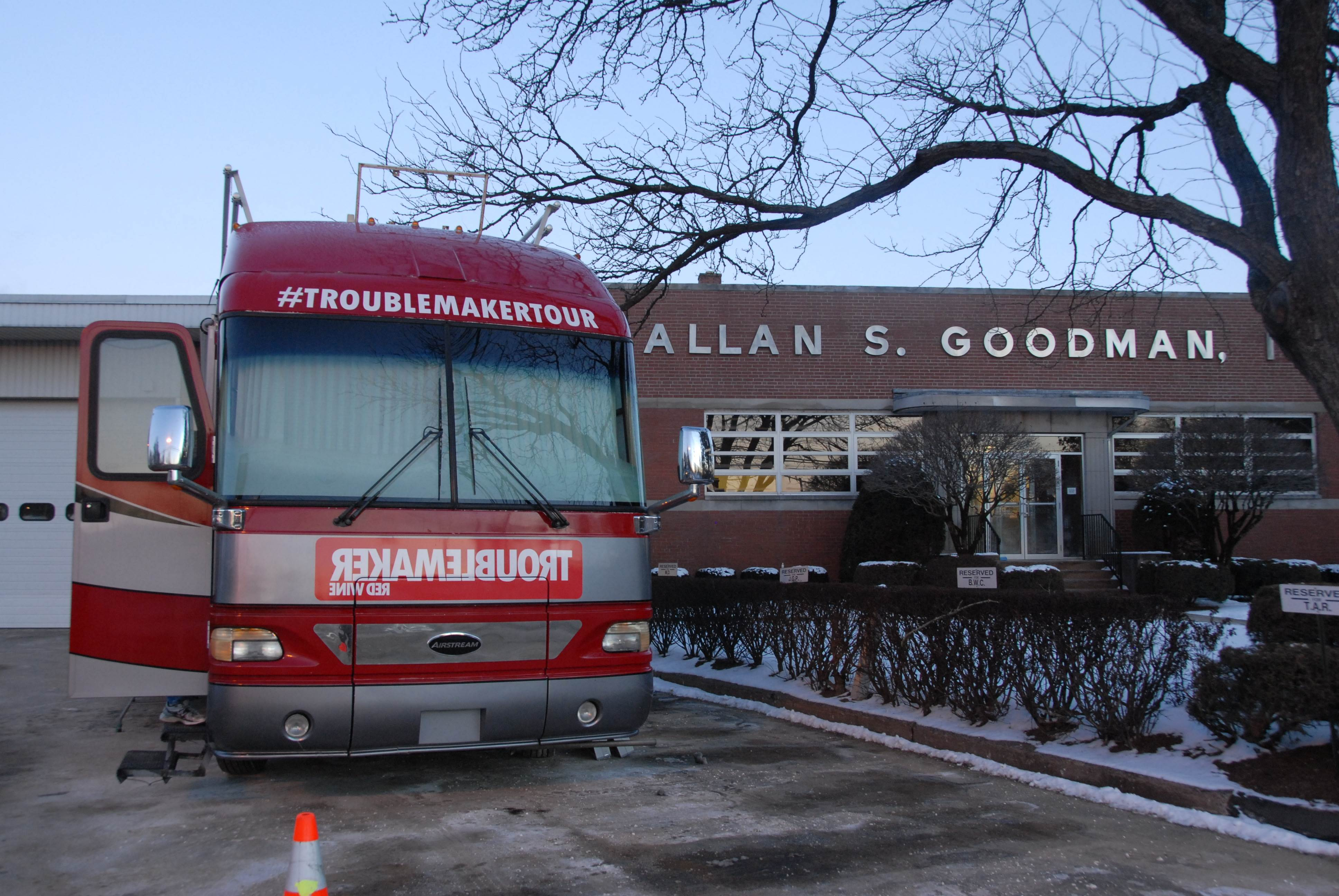 Troublemaker Red Bus Comes to AS Goodman