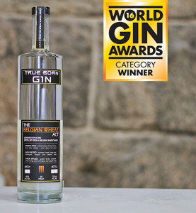 "True Born Gin – The Belgian Wheat Act was named ""United States Best Contemporary Style Gin"" by the 2016 World Gin Awards."