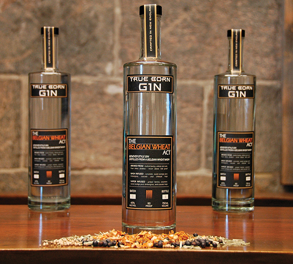 True Born Gin Debuts From Sons of Liberty Spirits Co.