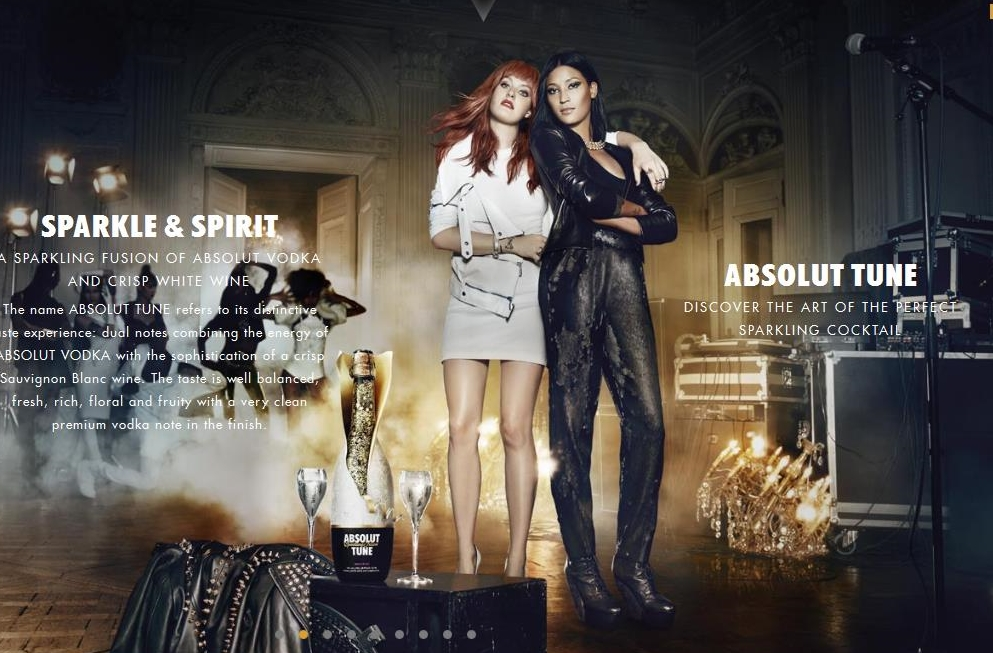 ABSOLUT Tune Partners with Icona Pop On Launch