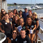 The service team at TwoTen Oyster Bar and Grill, South Kingstown after brand training.