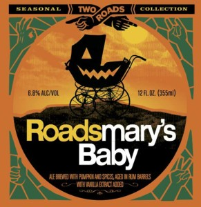 Two Roads Brewing Company, Roadsmary's Baby Pumpkin Ale