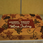 Universal Discount Package Store's 20th Annual Wine Tasting cake.