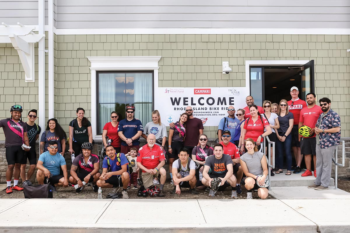 Bar Industry Teams Up for Fundraising Bike Ride