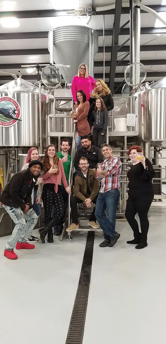 USBG Hartford Hosts Connecticut Valley Brewing Tour