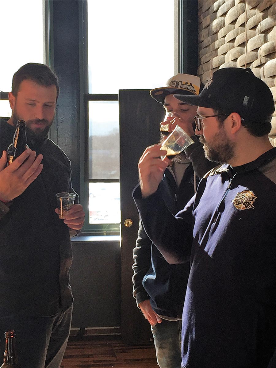 USBG RI Visits Connecticut Craft Breweries