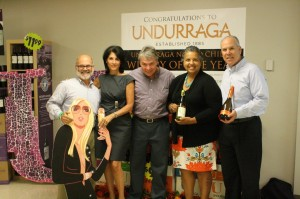 Left to right: Greg Altieri, Director of Learning and Development, CDI; Debbie Lane, President, Testa Wines; Kevin Lane, Vice President, Testa Wines; Marissa Ocasio, Regional Sales Rep, Testa Wines; Steve Lancor, Business Manager, CDI.