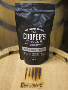 Uprising Barrel-Aged Coffee Beans.