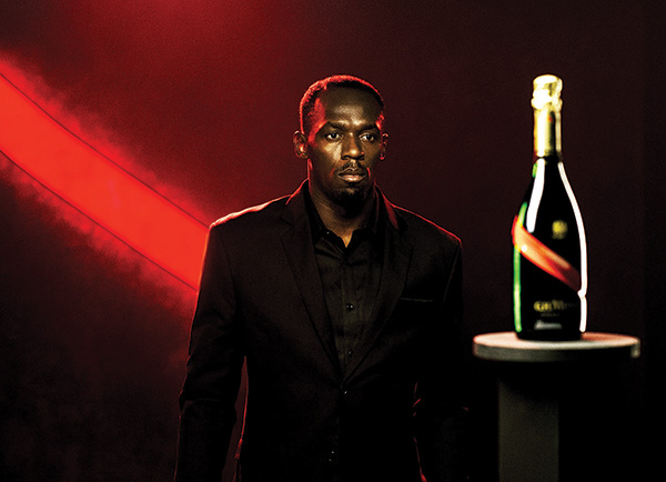 G.H. Mumm Champagne Names Bolt Chief Entertainment Officer