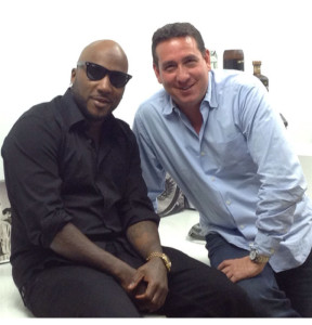 Ken Austin, Founder and Chairman of Tequila Avion, and Jay Jenkins, also known as Jeezy.