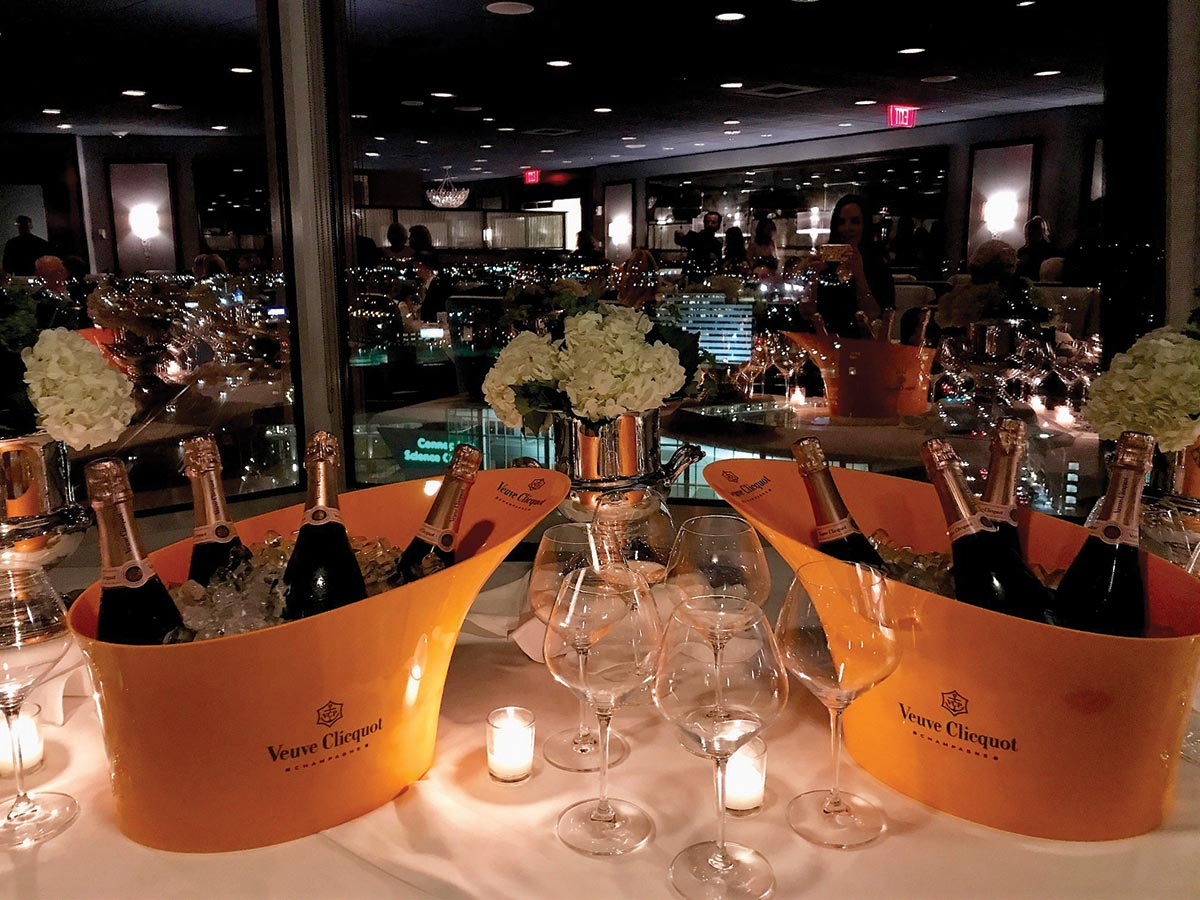 Slocum & Sons Hosts Veuve Clicquot Winemaker Dinner