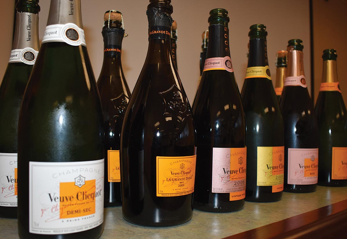 Slocum & Sons Hosts Veuve Clicquot Winemaker