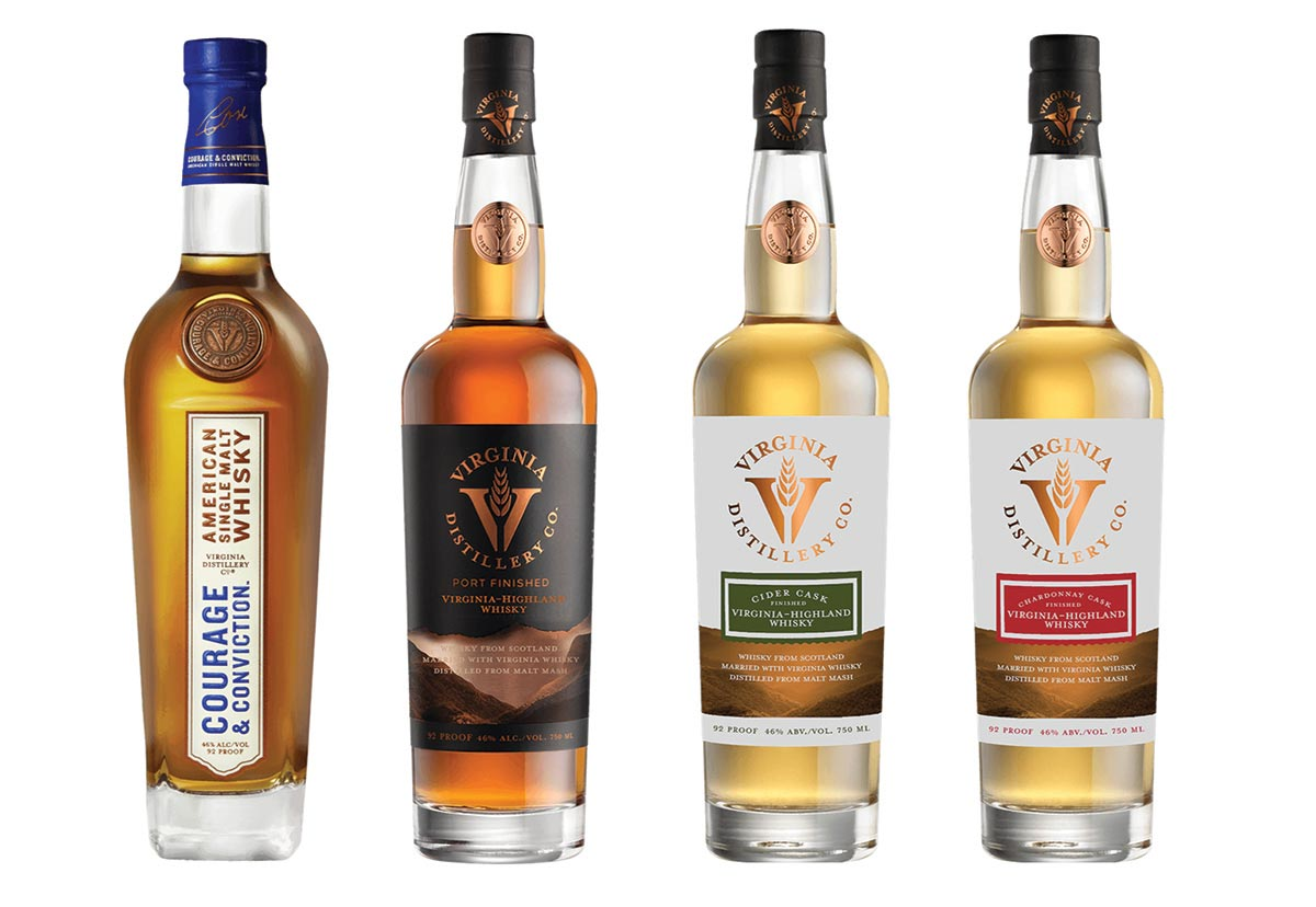 Virginia Distillery Company Whiskies Welcomed by Horizon