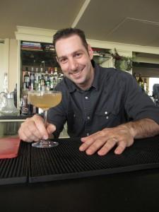Vito Lantz, bar manager of The Dorrance