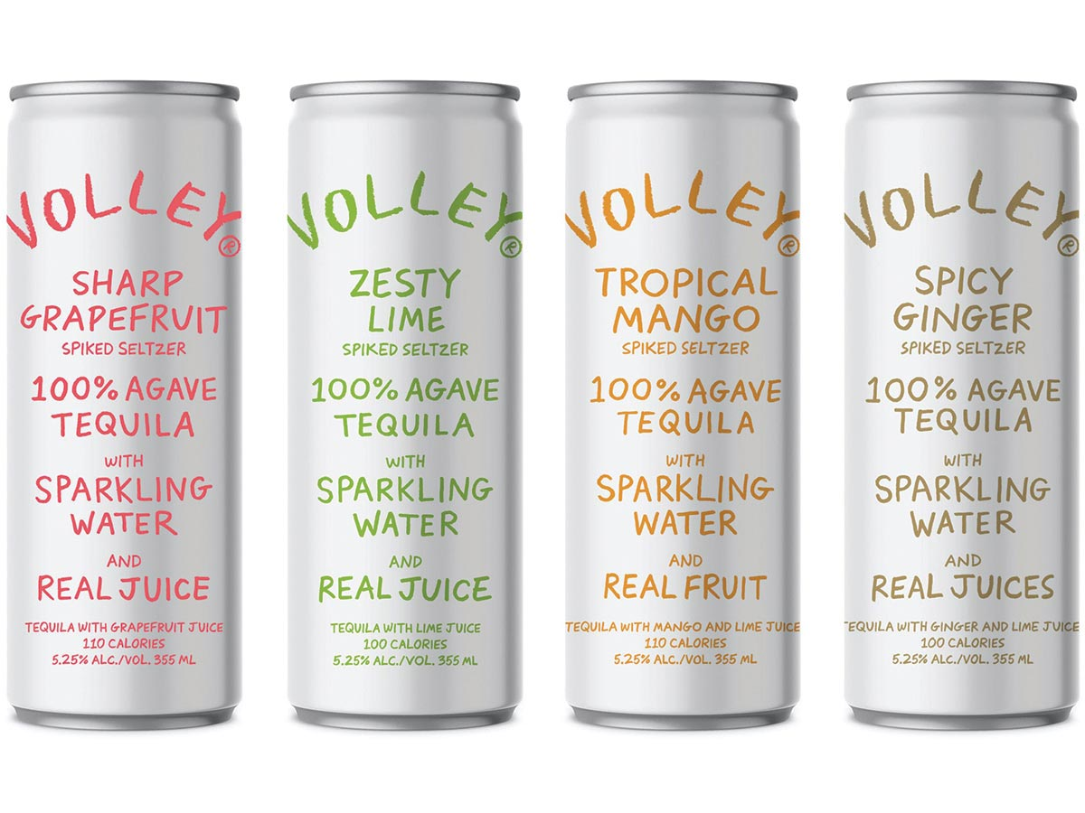 MS Walker Adds Ready-to-Drink Volley Tequila Seltzer