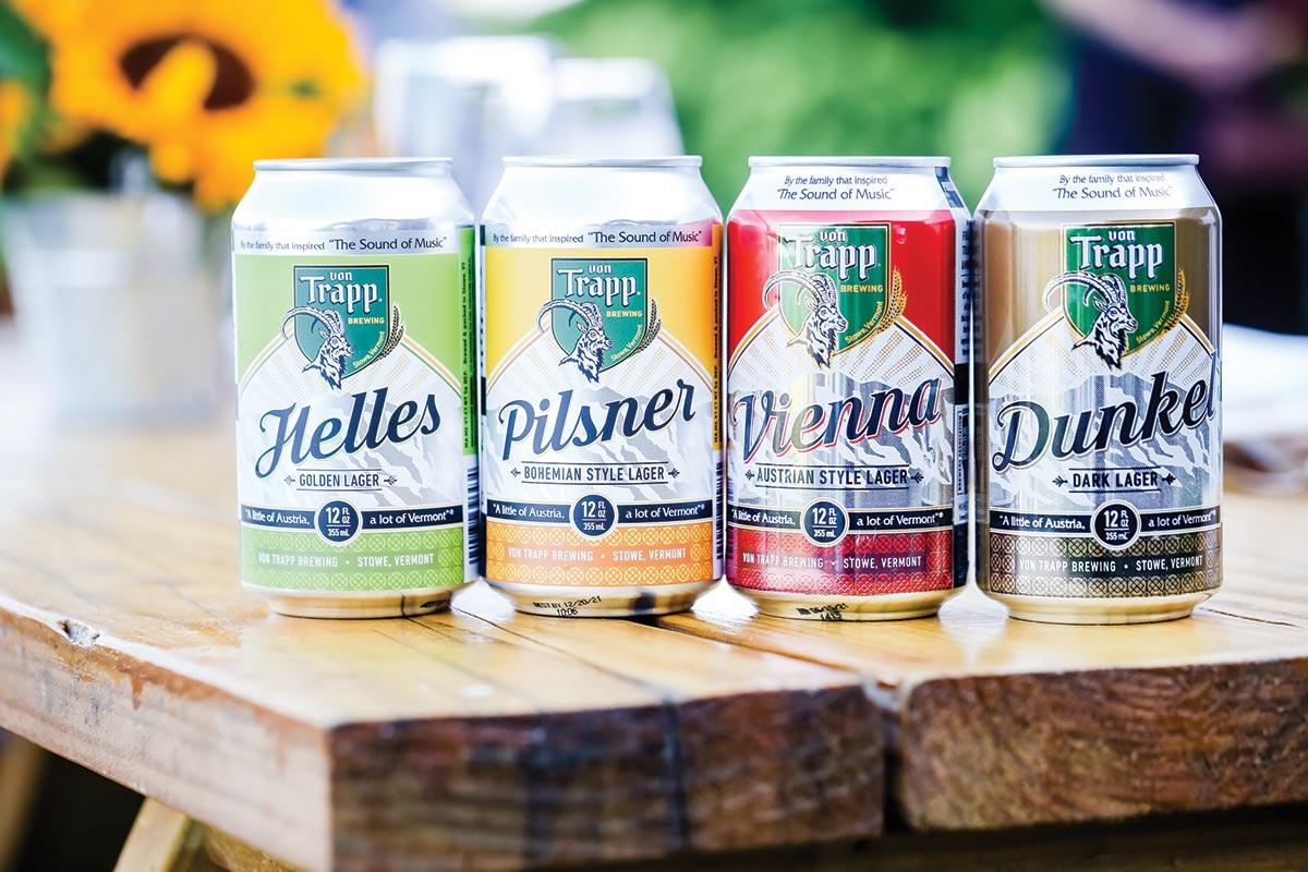 Summer Dinner Showcases Vermont's Von Trapp Brewing