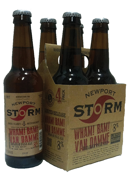 Newport Storm Releases Double India Pale Ale and First Four-Pack