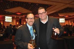 Frank Martucci, Director of Beverage Operations, Twin River Casino and Mike Lester, On-Premise Manager, MS Walker.