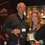 Donald Jean, Off-Premise Manager, Brown-Forman; and Kristy Bouchie, Brown-Forman.
