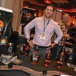 Will Boynton, Marketing, Horizon Beverage, showcasing Serpent's Bite.
