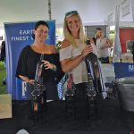Katie Klotzberger, On-Premise Sales Manager, Justin Wines; Emma Bzdafka, On-Premise Sales Manager, Justin Wines.