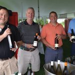 Oliver MacKinnon, President, Highland Imports; Rob Wallace, Sales Manager, Highland Imports; Jamie Clemente, Sales Manager, Highland Imports; Reid Harper, Eastern Sales Manager, Trione Vineyards & Winery.