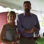 Rachel Thibodeau, Certified Beverage Professional, Connecticut Distributors, Inc. and Kristian Snook, Wine Account Development Specialist, Connecticut Distributors, Inc.