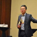Kenny Ng, Regional Director, Chatham Imports, Inc. presenting during a Michters seminar.