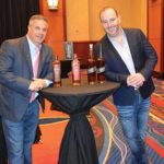 Raymond Cruciani, CT Area Manager, Proximo and Damian Cashman, Fine Spirits & Liquor Consultant with Bushmills & Stranahan whiskies during a seminar.