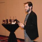 Will Schragis, National Director, Barrell Craft Spirits, during the Barrell Bourbon seminar.