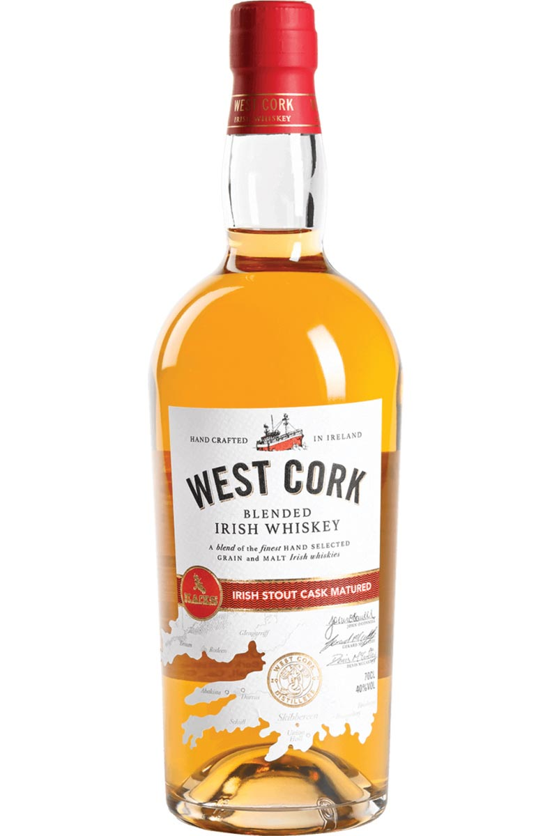 West Cork Irish Stout Cask Whiskey Launches