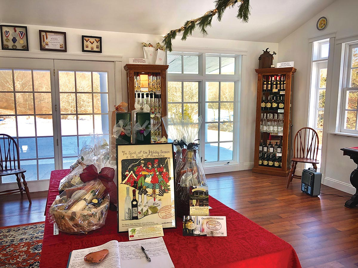Westford Hill Distillers Opens to Public for the Holidays