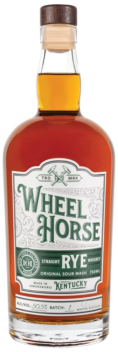 Latitude Beverage Debuts Kentucky's Wheel Horse Rye Whiskey