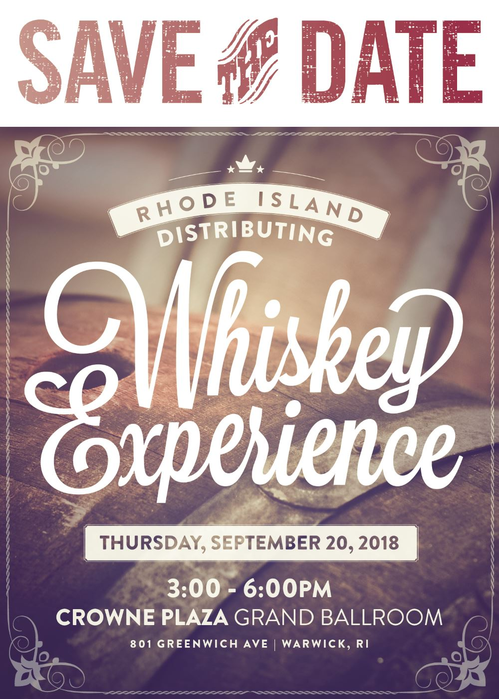 September 20, 2018: RIDC Fall Whiskey Experience Trade Show