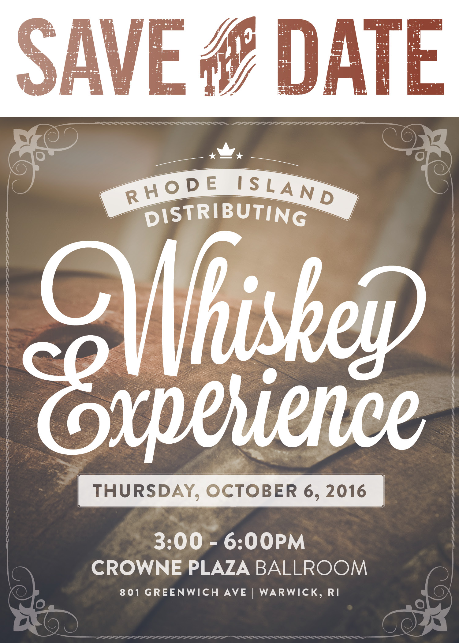 October 6, 2016: Rhode Island Distributing Whiskey Experience