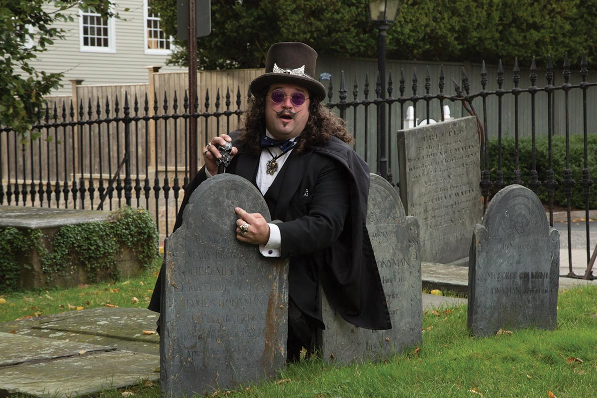USBG RI Goes Ghost Hunting in October Monthly Mixer