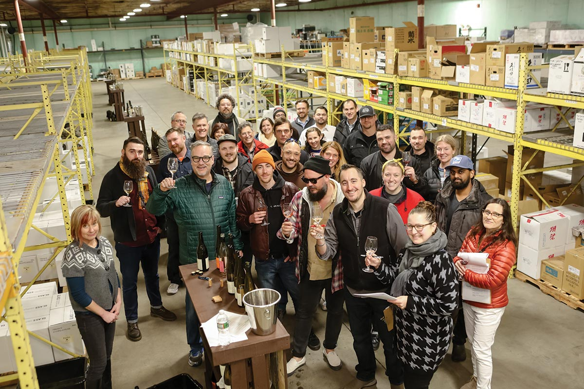 The Wine Bros. Celebrates Oregon Wines with Trade Guests