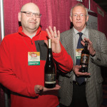Angelini Wine Ltd.'s Mark Velardi and Matt Carpenter.