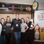 The Guinness booth.