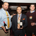 Winebow's Stephen S. Sergetario, Wine Consultant; Carl Vitale, Brand Manager/Key Account Specialist; and Jeff Juliano, Sales Consultant.