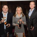 Highland Imports' Oliver P. MacKinnon III; Sarah Janisch and Giuliano Parolin, Parolvini U.S. Corp.