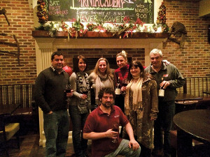 Left to right: Walter Pastet, wine enthusiast; Marcia Passavant, Sales Information Director, Slocum & Sons; Renée Allen, CSW & Director, Wine Institute of New England; Cristine Peterson, Key Account Manager, Hartley & Parker; Lynn Mola, wine enthusiast; James Kehoe, Feng Restaurant, Hartford & Ginza Restaurant, Wethersfield. Front: Robert Mola, wine enthusiast.