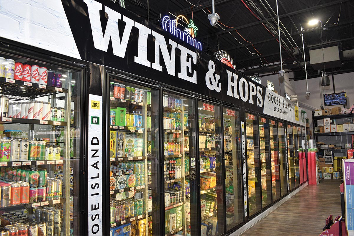 Retail Review: Wines & Hops