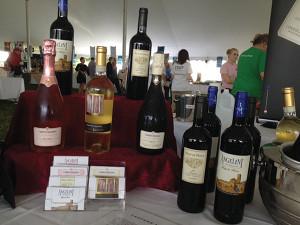 Angelini Wines available to taste.
