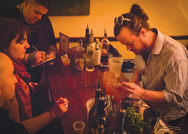 """Farmstead Hosts """"Winterlicious Cocktail Competition"""""""