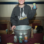Cara Liefers, Director of Sales, Grey Sail Brewing of Westerly, RI. Rhode Island Winter Beer Blast 2016.