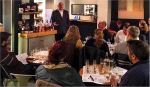 Don Jean, Market Manager, Brown-Forman shared his 30-plus years of bourbon industry knowledge with guests.