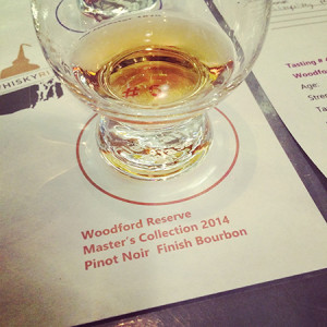 The Woodford Reserve Master's Collection 2014 Pinot Noir Finish Bourbon