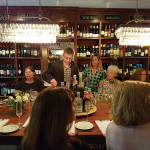 Filip Wouters, U.S. Artisanal Importers hosted a tasting and cocktail seminar at Madison Wine Shop in May.